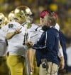 No. 21 Notre Dame struggling again in the red zone