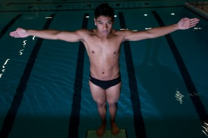 Portage diver Fannin answers his challenges