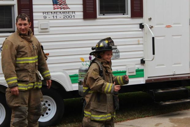 Open house showcases fire safety, equipment