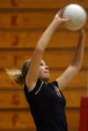 Lowell volleyball player Anna Sacco is no second fiddle