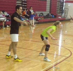 National badminton champs come to T.F. South for Carlton Cup