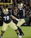 Ex-Notre Dame QB Crist transferring to Kansas