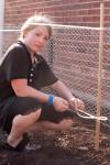 Volunteers help create Portage community garden