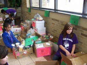 MIS surpasses goal, collects 2,083 canned goods for donation
