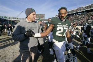 Dantonio: 'No issues' with Buckeyes
