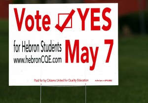 Hebron, Union schools next up to ask voters for more money