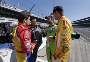 Andretti team topping Indy speed charts  