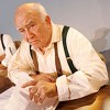 Ed Asner here this weekend in play to celebrate Darwin's milestone birthday
