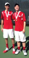 Munster boys doubles team falls in state semifinals