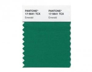 Emerald green is Pantone's top color of 2013