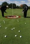 Raining golf balls