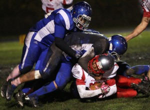 Morton running game leads the way to victory over Clark