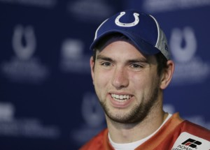 Luck, Colts ready for 2nd round through NFL
