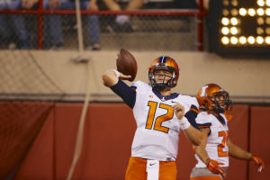 Illinois expects Lunt to return against Purdue