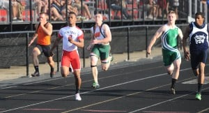 Portage sprinter Blake impressive in return at boys track sectional
