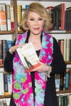 Joan Rivers at Book Store Appearance