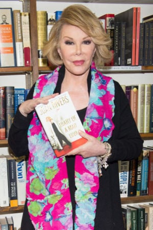 Talk of the Town: Joan Rivers doesn't hold back in new book or her everyday life
