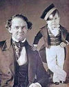 P.T. Barnum and Gen. Tom Thumb