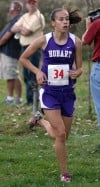 Hobart sophomore is finding her stride after a tough break
