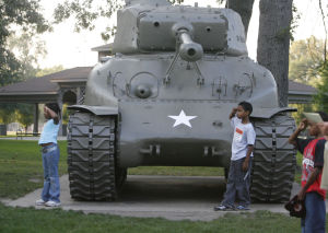 THE SOUTH SHORE IN 100 OBJECTS, DAY 58: WW II-era tank in Griffith