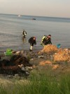 Man missing in water at Whihala Beach