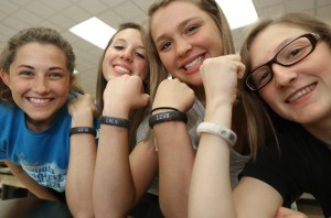 Nike Fuel Bands allow Lowell students to track energy output