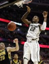 Dawson growing into a leader at Michigan State