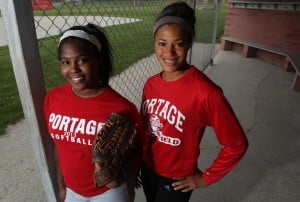 Portage McKnight twins fuel each other's motivation for state finals competition