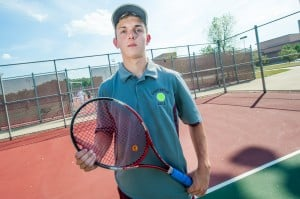 Chesterton freshman Mario already shows strength at No. 1 singles
