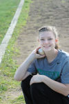Versatile Courtney Maxwell competes in all aspects of track and field