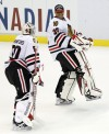 Ray Emery, Corey Crawford
