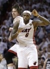 Miller's shots sure-fire boost for Heat in finals