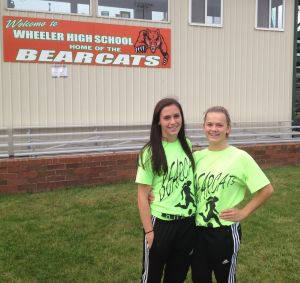Wheeler's Terra Philips, Megan Kirkland deal with injuries and victories