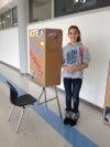 Clark students cast ballots