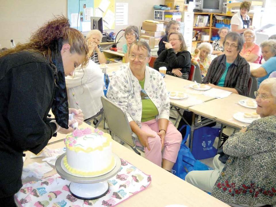 Cake Decorating Job Ad : Forum keeps county s elderly informed News ...
