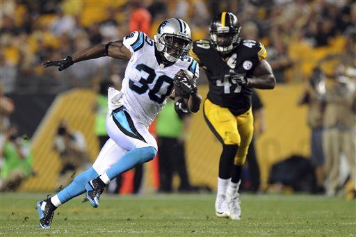 Steelers fall to Panthers