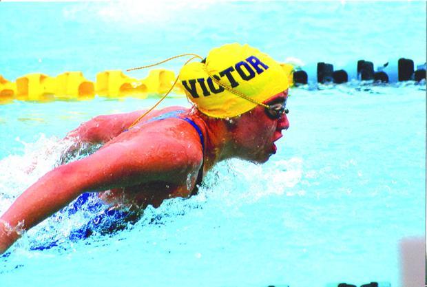 Swim star Makayla Sargent