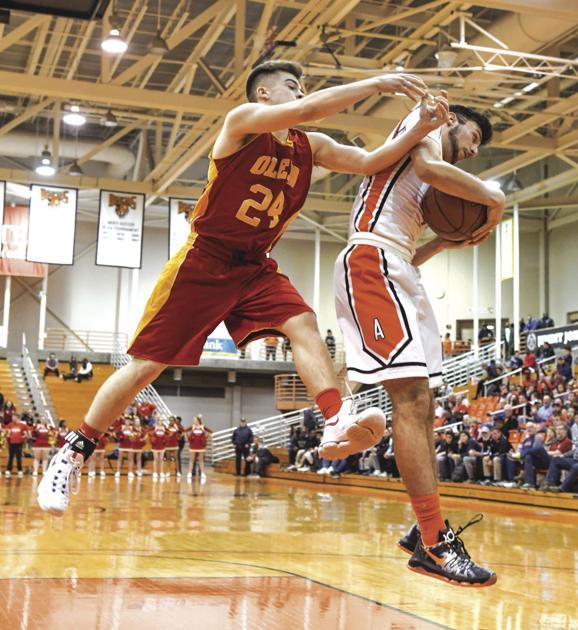 Sec. 6 Boys Basketball: Amherst Ousts Olean, 57-53