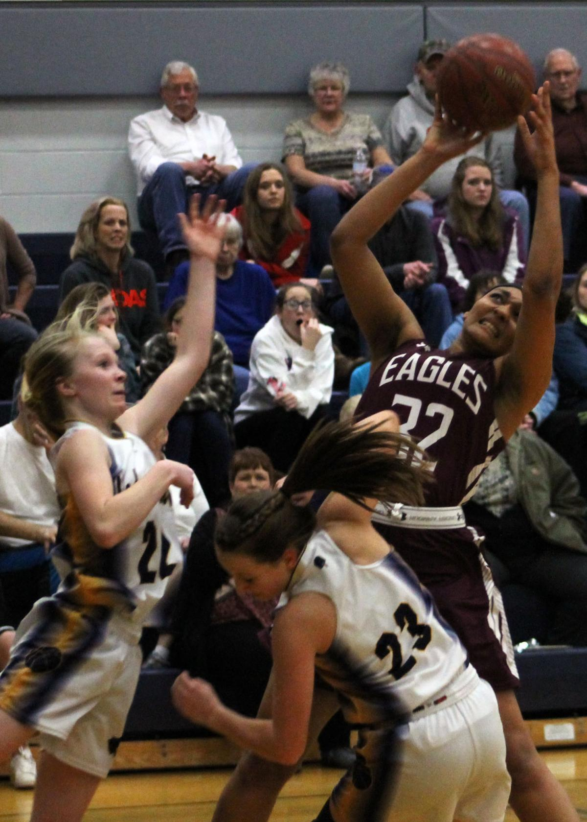 franklinville girls Franklinville — the franklinville girls basketball team learned just how important ally haskell is to its success.