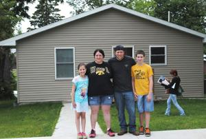 Habitat for Humanity dedicates its 20th home
