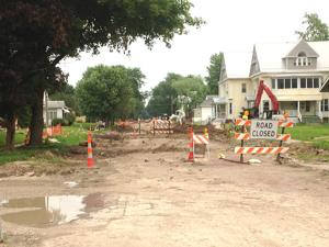 Weather impacts street projects