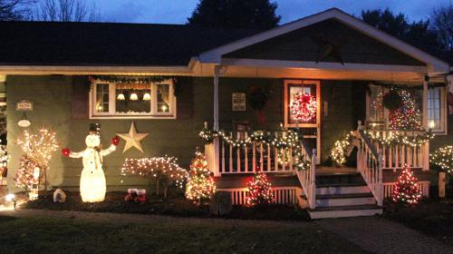 <p>Carl and Kathy Zerrahn, of Ellen Street, have decorated their home for years.</p>