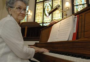 After 55 years, piano teacher still beams when the light goes on