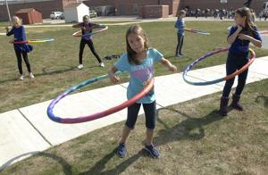 Photos: Project Fit America at Prairieland Elementary School 10/5/2015