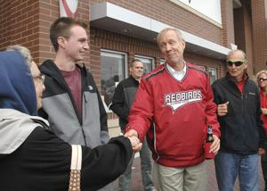 Photos: Gov. Rauner takes in ISU football game