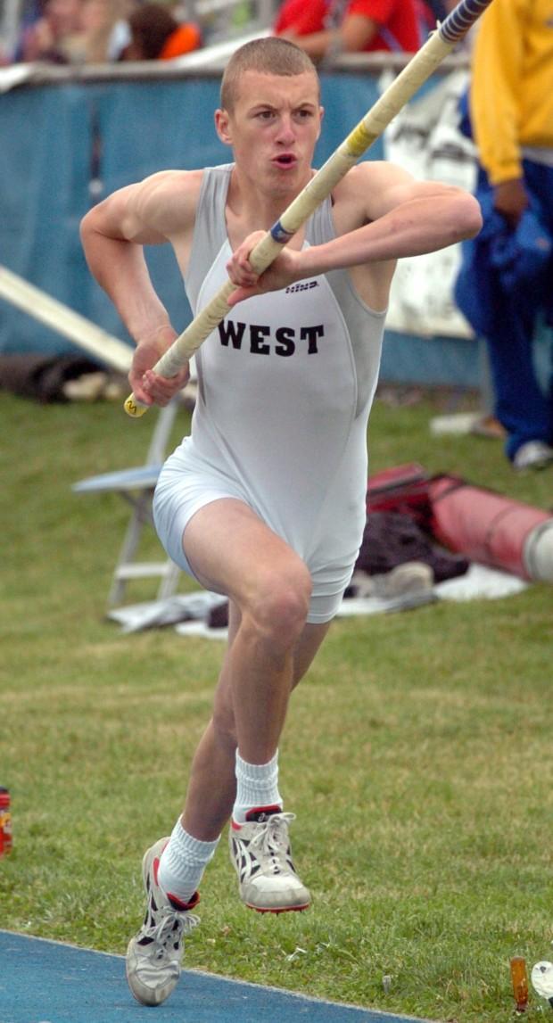 West pole vaulter Gordon picks EIU : High-school