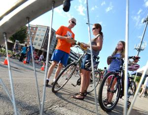 Photos: Third Annual Light the Night Bike event, Normal 9-3-2015