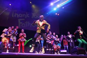 African kids' chorus transforms loss into hope