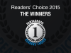 The 2015 Readers' Choice winners