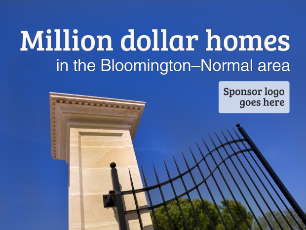 The most expensive homes in bloomington normal and central for Most expensive house in illinois